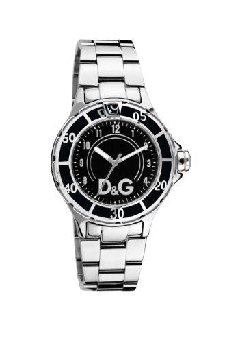 Dolce & Gabbana - DW0511 - Montre Mixte - Quartz Analogique - Bracelet en Acier Inoxydable Argent