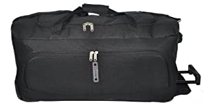 5 Cities Set of 2 Large Super Lightweight Wheeled Holdalls - 2 Years Warranty!