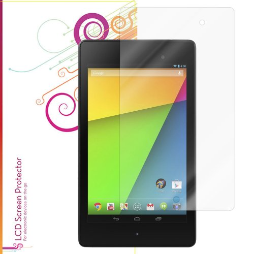 rooCASE Google Nexus 7 FHD 2nd Gen Ultra HD Plus Screen Protector [Anti-Fingerprint / Self-Healing / Bubble Free / Lifetime Warranty]