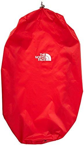North Face-Copertura antipioggia per zaino, colore: rosso, misura: L