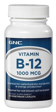 Gnc Vitamin B12 1000Mcg 90Tabs