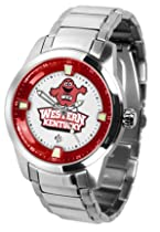Western Kentucky Hilltoppers Titan Steel Watch