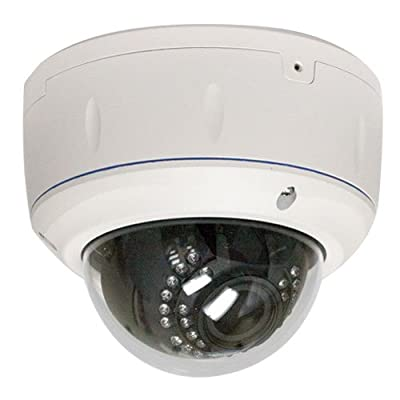 850 TVL ZOOM Vari-focal 2,8~12mm Security Camera for Indoor & Outdoor Color Home Security Surveillance Dome Camera with Free Power Supply