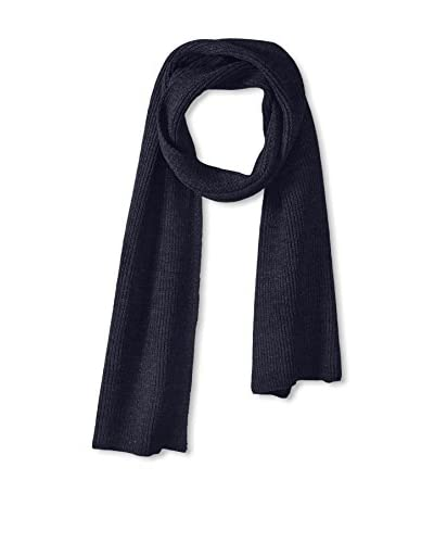 Block Men's Textured Knit Scarf, Navy