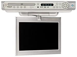 Polaroid FDM-1000A Under-Cabinet TV/DVD Combo with 10