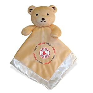 Baby Fanatic Boston Red Sox Security Bear Blanket, 14 x 14-Inch