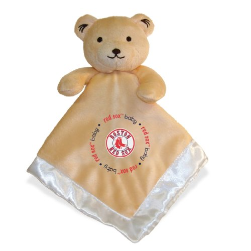 Baby Fanatic Boston Red Sox Security Bear Blanket, 14 X 14-Inch front-1016536