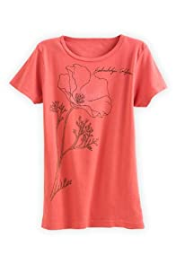 Green 3 Apparel Poppy Organic USA made T-shirt