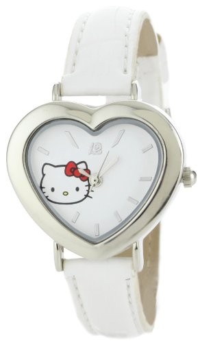 Hello Kitty Women's H3WL1007WT White Dial Watch