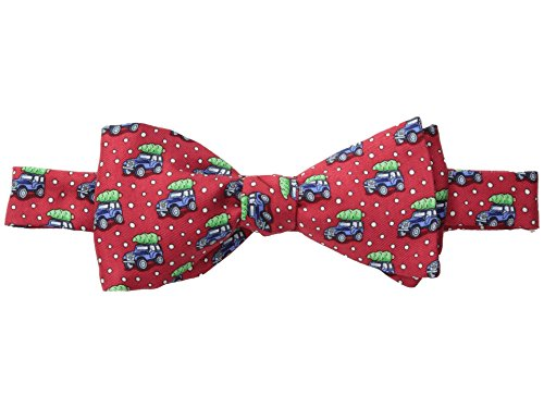 Vineyard Vines Men's Woody and Tree Bow Tie (Red)