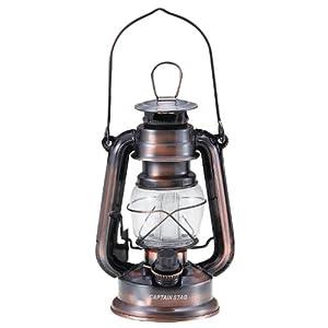 キャプテンスタッグ(CAPTAIN STAG) アンティーク暖色LED ランタン ブロンズ M-1328