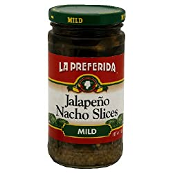 La Preferida, Pepper Jalapeno Nacho Mild, 11.5-Ounce (12 Pack)
