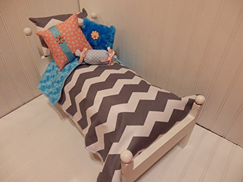 Gray Chevron Comforter