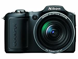 Nikon Coolpix L100 10 MP Digital Camera with 15x Optical Vibration Reduction (VR) Zoom