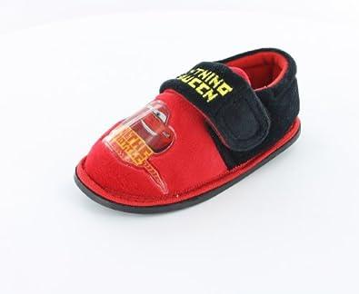 Boys Disney Cars Throttle Red Slipperss sizes 4 - 10 (5 (Infant))