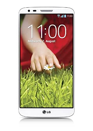 LG G2 Smartphone ( 13,2 cm (5,2 Zoll) Touchscreen, Quad-Core, 13 Megapixel Kamera, 16GB Speicher, Android 4.2) weiß