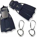 リバレイ レッドレーベル RLフローターフィン+セーバーセット ブラック フリーサイズ