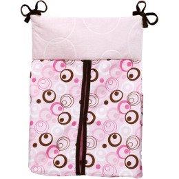 Pink Metro Diaper Stacker - 1