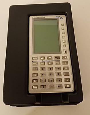 jeppesen techstar electronic flight computer w carry case from rh redbackaviation com