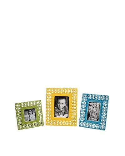 Set of 3 Assorted Links Photo Frames