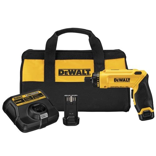 DEWALT DCF680N2 8V Max Gyroscopic Screwdriver 2 Battery Kit (Battery Powered Screwdriver compare prices)