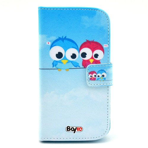 Bayke Brand / Motorola Google Moto G Fashion Pu Leather Wallet Flip Protective Skin Case With Stand With Credit Card Slots & Holder (Cute Owl Print 09)