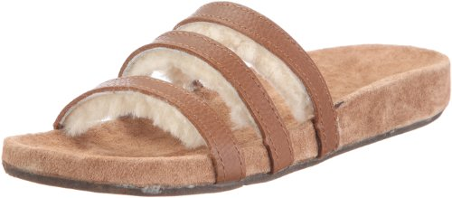 Emu Women's Milly Vintage Brown Slides Sandal W10114 3 UK