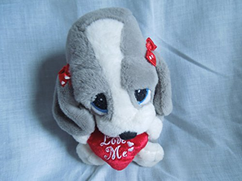 Sad Sam and Honey 8 Honey Holding Heart Plush - 1