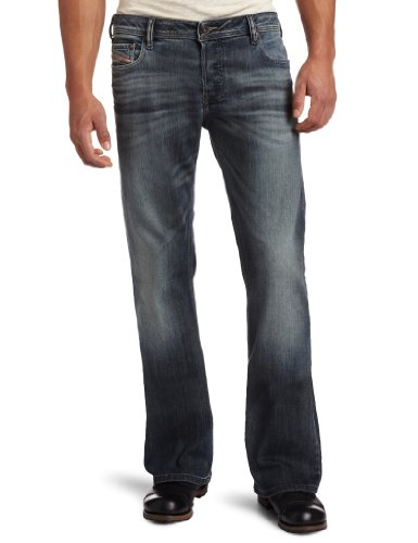 Diesel Men's Zathan Regular Bootcut Jeans 885K from Diesel