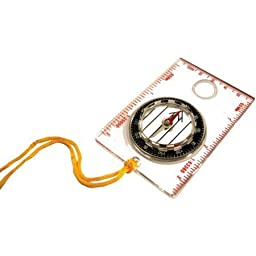 Adjustable Marching Line Way Point Compass, Clear