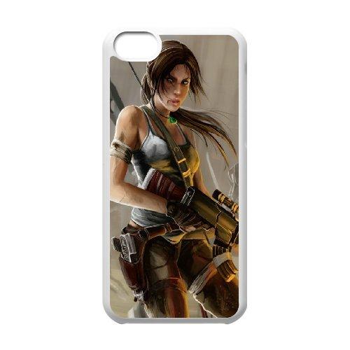 Generic Case Tomb Raider Lara Croft For iPhone 5C Q9Q813282