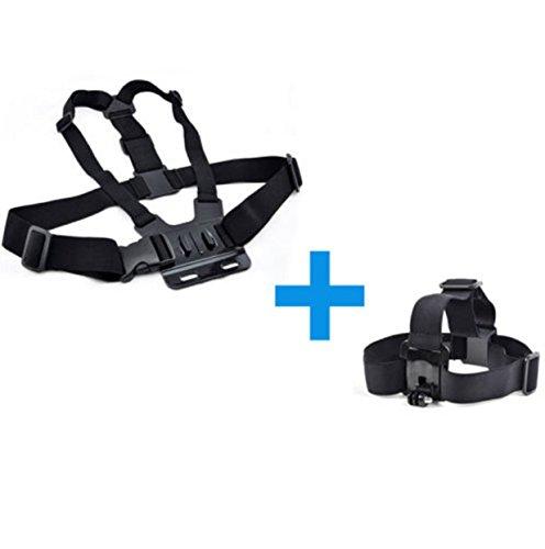 Harness Head & Chest Strap Gopro Hero Mount Case Accessories Camera