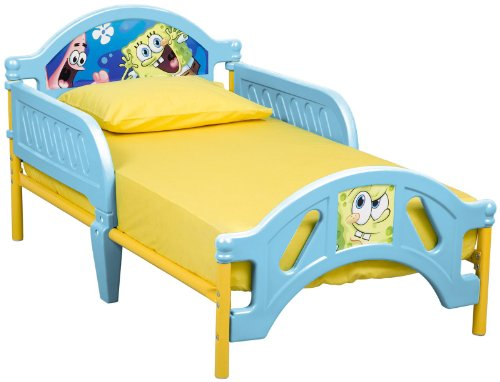 Nickelodeon Sponge Bob Toddler Bed - 1