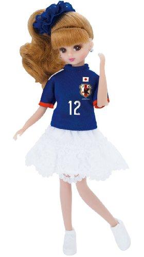 リカちゃん サッカー日本代表チームモデル リカちゃん 2014