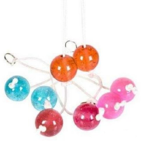 Great Features Of You Get 1 Clackers Balls on a String- Colors May Vary