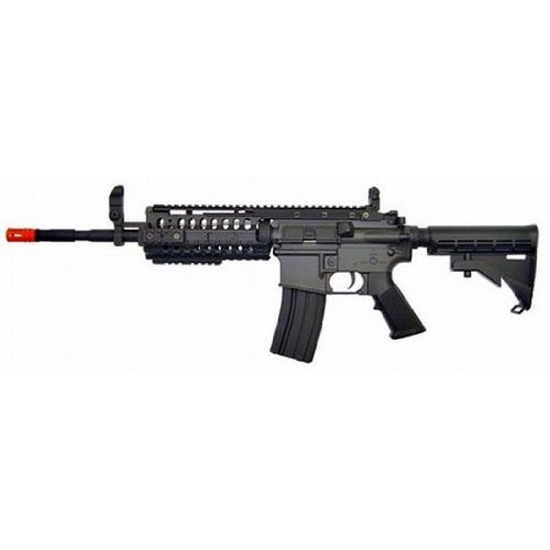 JG M4 S-System Airsoft AEG Rifle 2010 Upgraded 