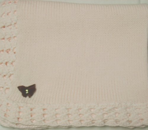 Hand Knitted Baby Blanket back-334406