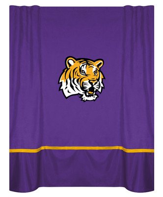 LSU Tigers MVP Shower Curtain at Amazon.com