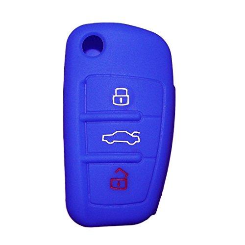 silicona-estuche-para-llaves-de-coche-plegable-juego-de-llaves-para-audi-a3-a4-cabriolet-a6-allroad-