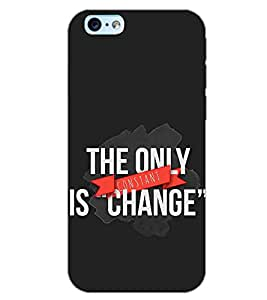 PrintDhaba QUOTE D-6146 Back Case Cover for APPLE IPHONE 6S PLUS (Multi-Coloured)