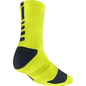 Nike Elite Cushioned Crew Sock Dri Style: SX4586-300 Size: S