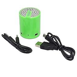 Tech & Go Splash Mini Rechargeable Portable Speaker - Green