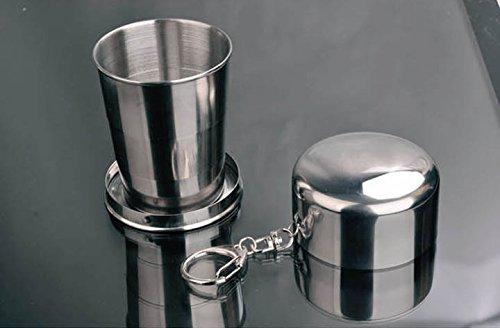 Stainless Steel Cup Folding Mug Camping Mug front-593333