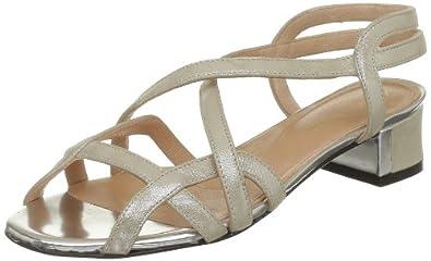 Robert Clergerie Womens Solone Sandals Beige Beige (Madre Perla) Size: 36