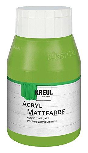 kreul-75910-acrilico-color-mate-500-ml-botella-color-verde