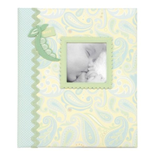CR Gibson Jack Loose-leaf Baby Memory Book
