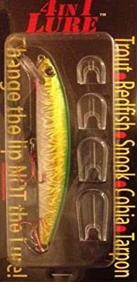 4 In 1 Lure Trout Redfish Snook Cobia Tarpon by 4 in 1 Lure