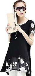 Shree Women's Top (s-1020350_Free Size_Black)