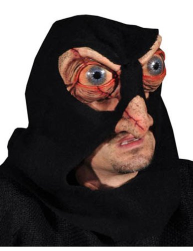 Scary-Masks Hacker Mask Halloween Costume - Most Adults