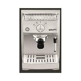 krups yy8206fd expresso simple pompe full metal manuelle cafeti res. Black Bedroom Furniture Sets. Home Design Ideas